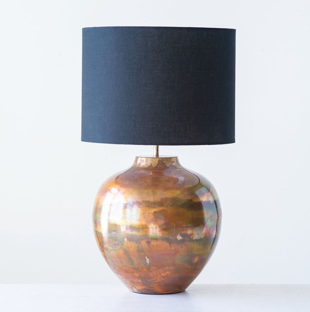 copper lamp - Hello World