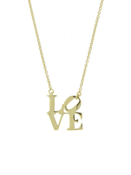 LOVE Necklace Silver/Gold