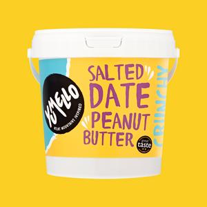 SALTED DATE PEANUT BUTTER 1KG TUB