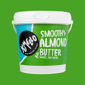 SMOOTH ALMOND BUTTER TUB 1KG