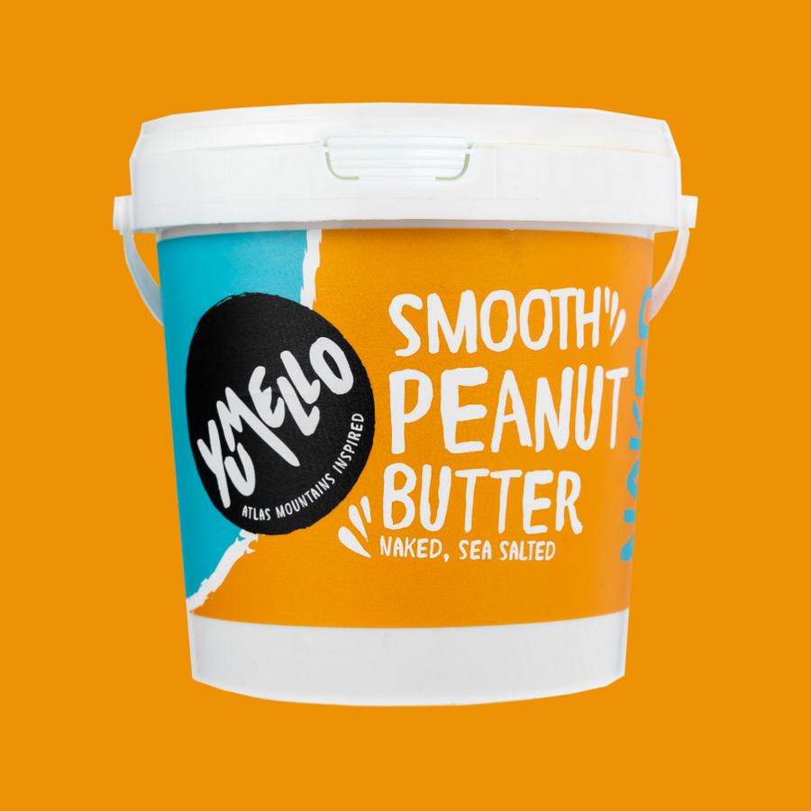 SMOOTH PEANUT BUTTER TUB 1KG