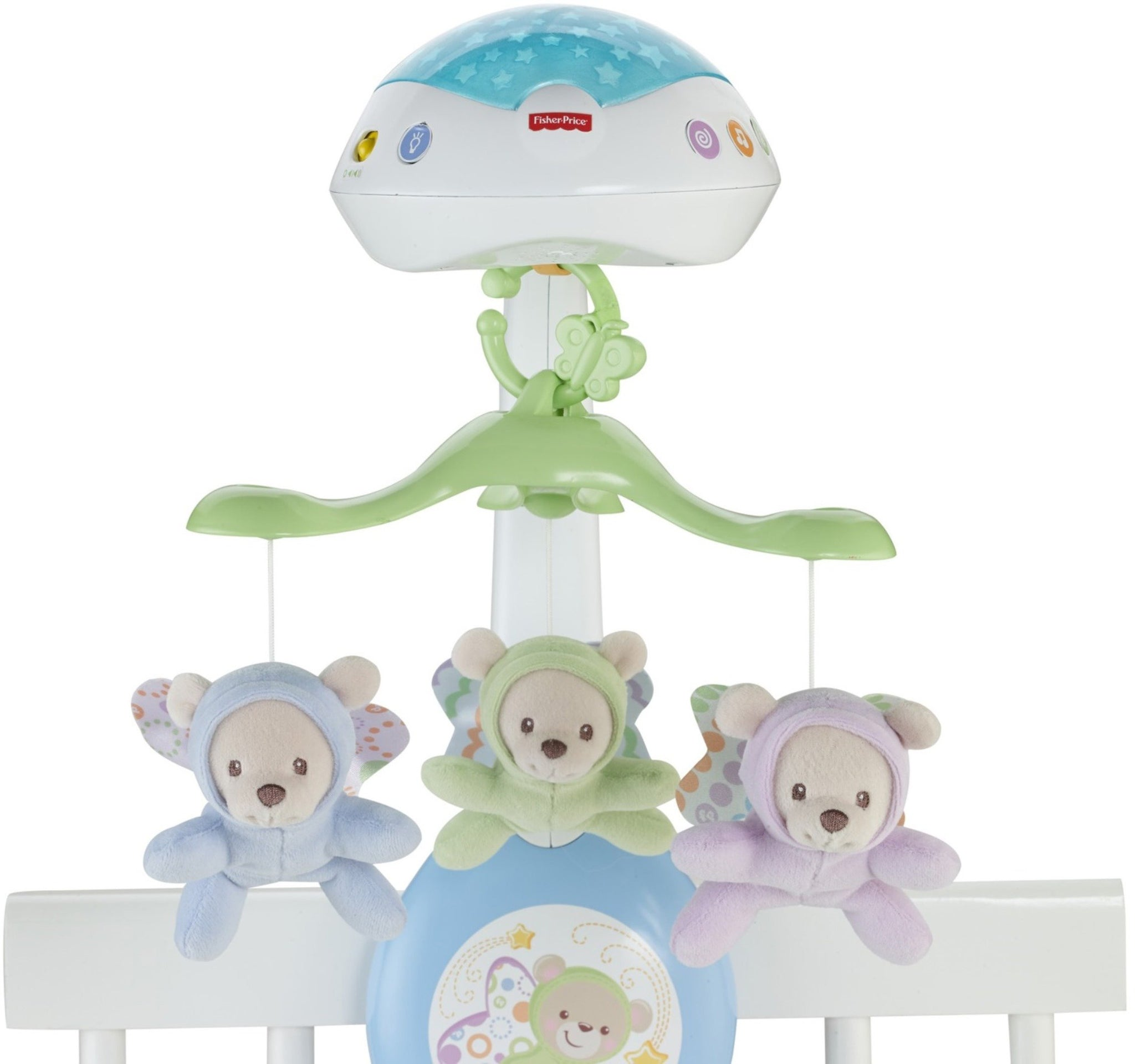 Butterfly Dreams 3-In-1 Newborn Baby Light Projector Mobile Cot Toy