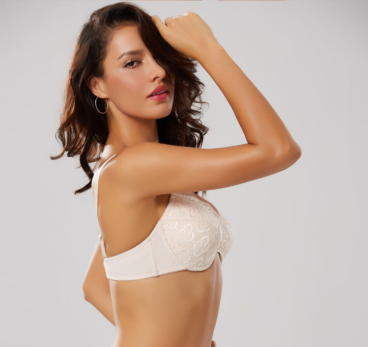 LADIES MICROFIBER PADDED BRA