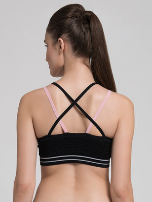 'Strong in Sheer' Sports Bra
