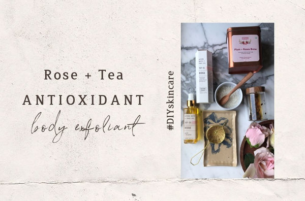 Rose + Tea Antioxidant Body Scrub