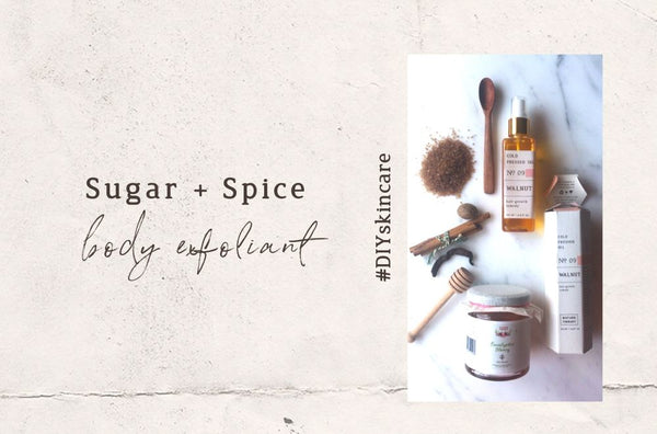 DIY Spiced Body Exfoliant