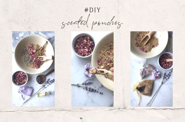 DIY Scented Pouches for your cupboards