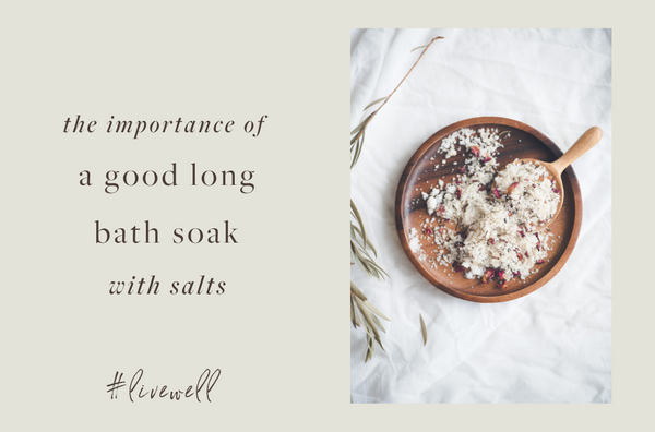 The Benefits of Bath Salt