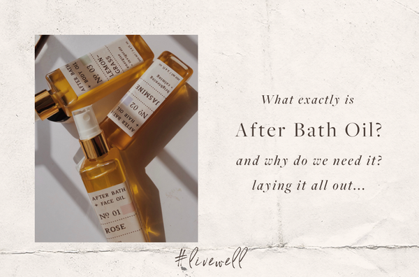 What exactly is After Bath Oil?