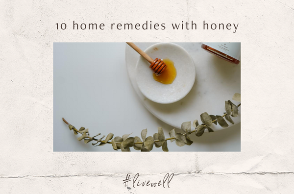 10 home remedies with honey