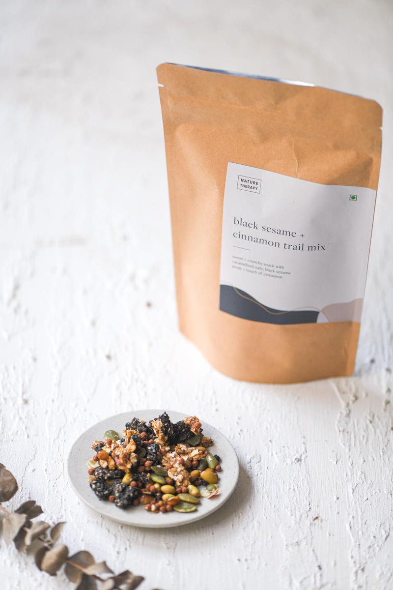Black Sesame+Cinnamon Trail Mix