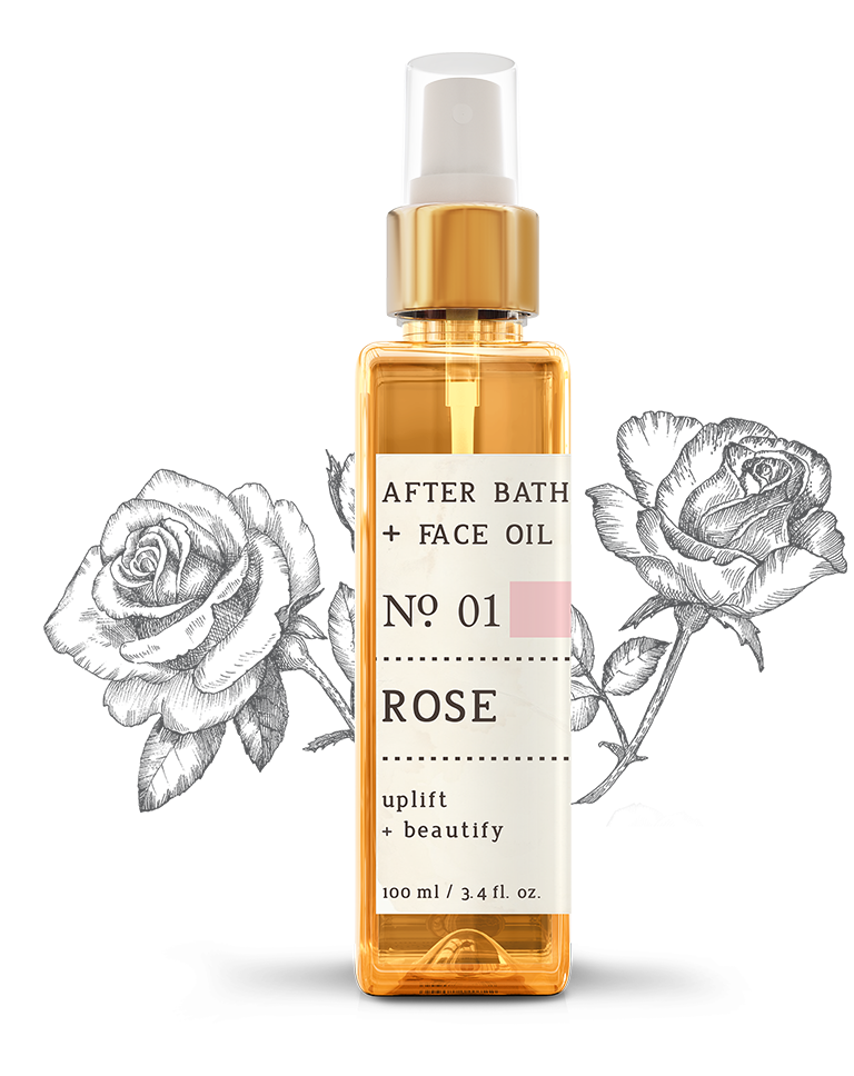 No. 1 Rose After Bath + Face Oil