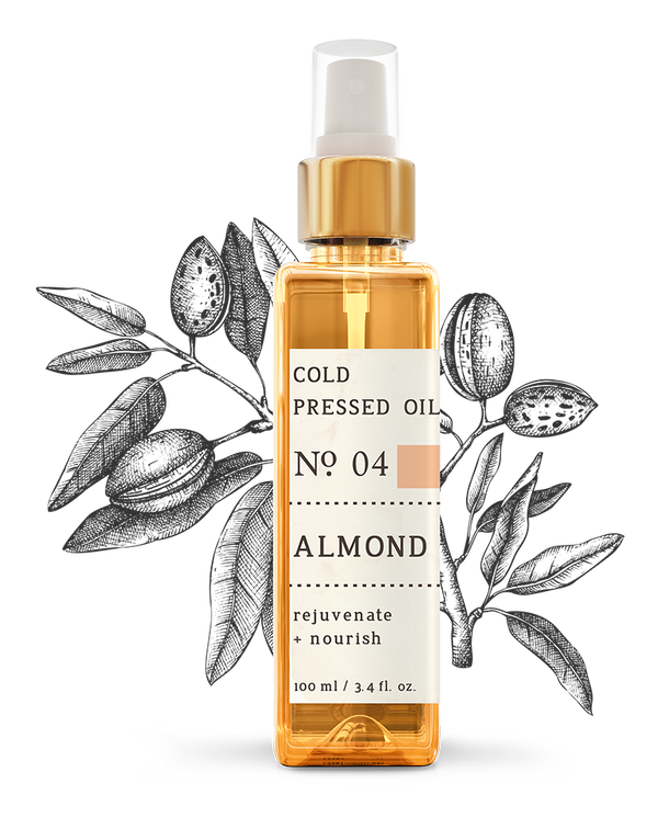 No. 4 Almond Cold Pressed Oil