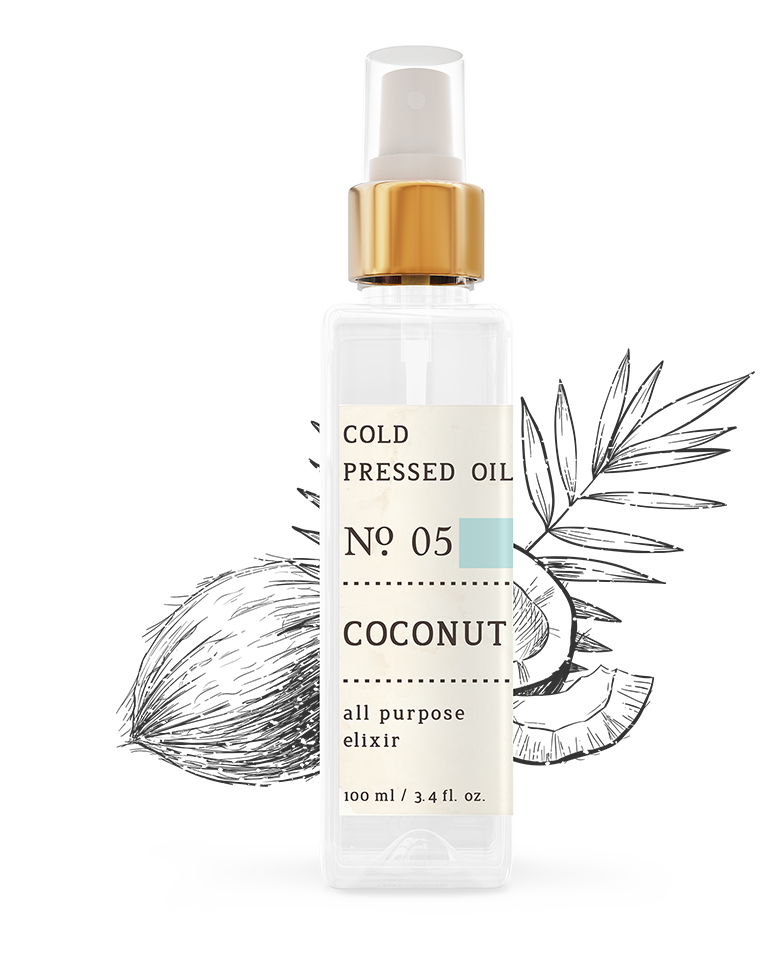 No. 5 Coconut Cold Pressed Oil