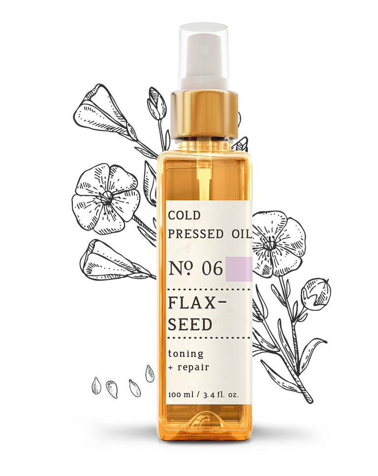 No. 6 Flaxseed Cold Pressed Oil