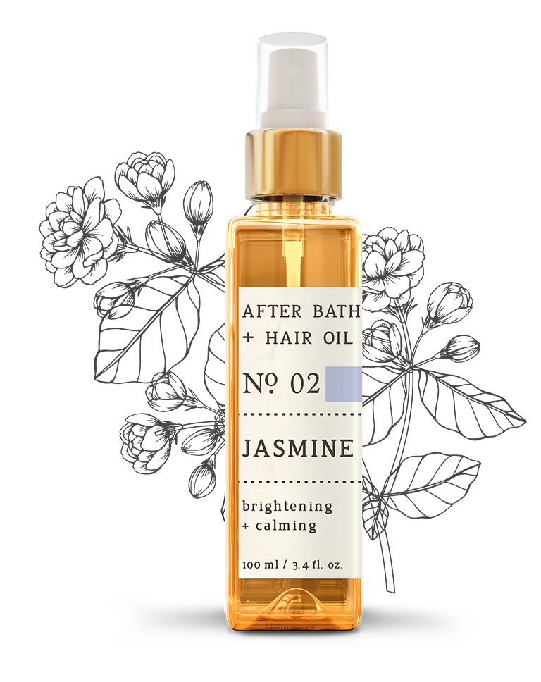 No. 2 Jasmine After Bath + Hair Oil
