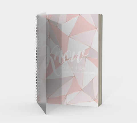 KNOW Book + Tribe Geometric Journal