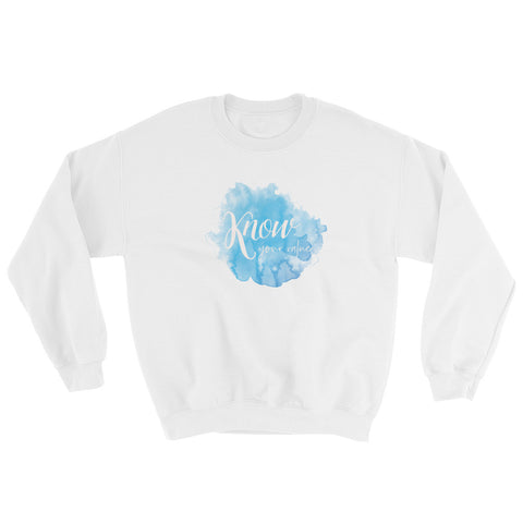 KNOW Your Value Sweatshirt