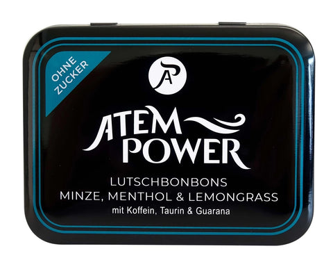 Atempower Lutschbonbon Metalldose