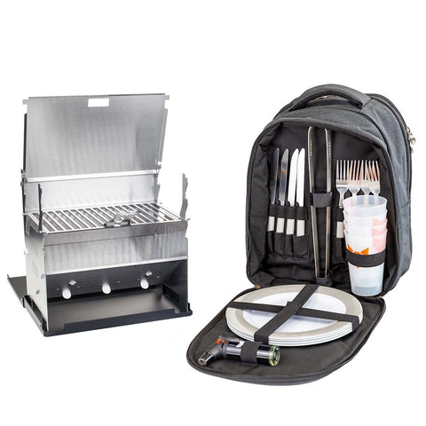 Backpack & Grill im Set