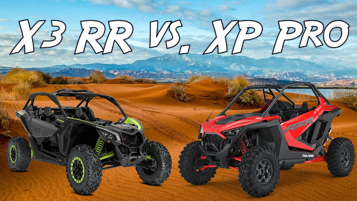 Who is the top dog? RZR XP Pro Ultimate vs. X3 X DS Turbo RR