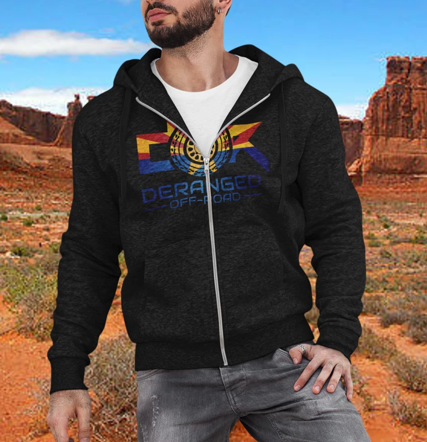 Arizona Show Zip up Hoodie