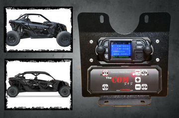 In-dash for Can-Am X3~ Radio and Intercom