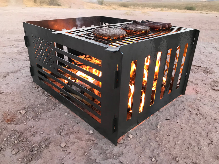 Deranged Off Road Firepit and BBQ