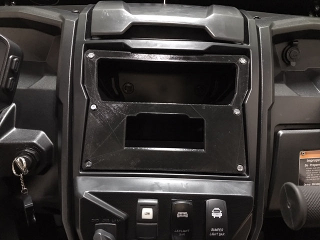 2020 KRX Rugged Radio cut out and self panel