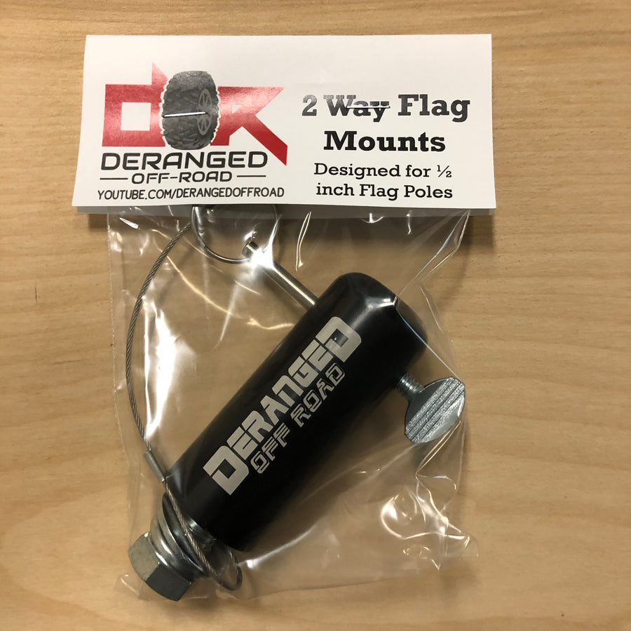 Flag Mount for 1/2 Inch Fiberglass Day Whip Mount