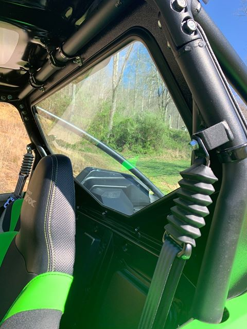 Dirt Warrior Kawasaki  KRX 1000 Rear Glass Windshield 2020
