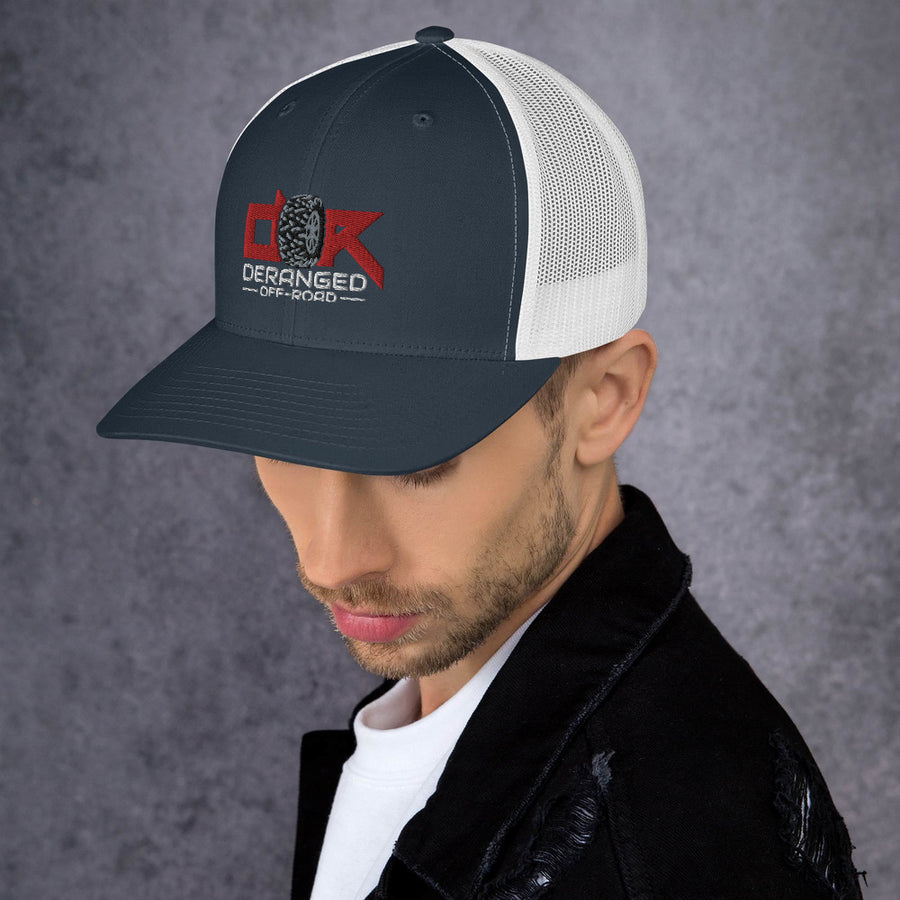 Deranged Tread Trucker Hat