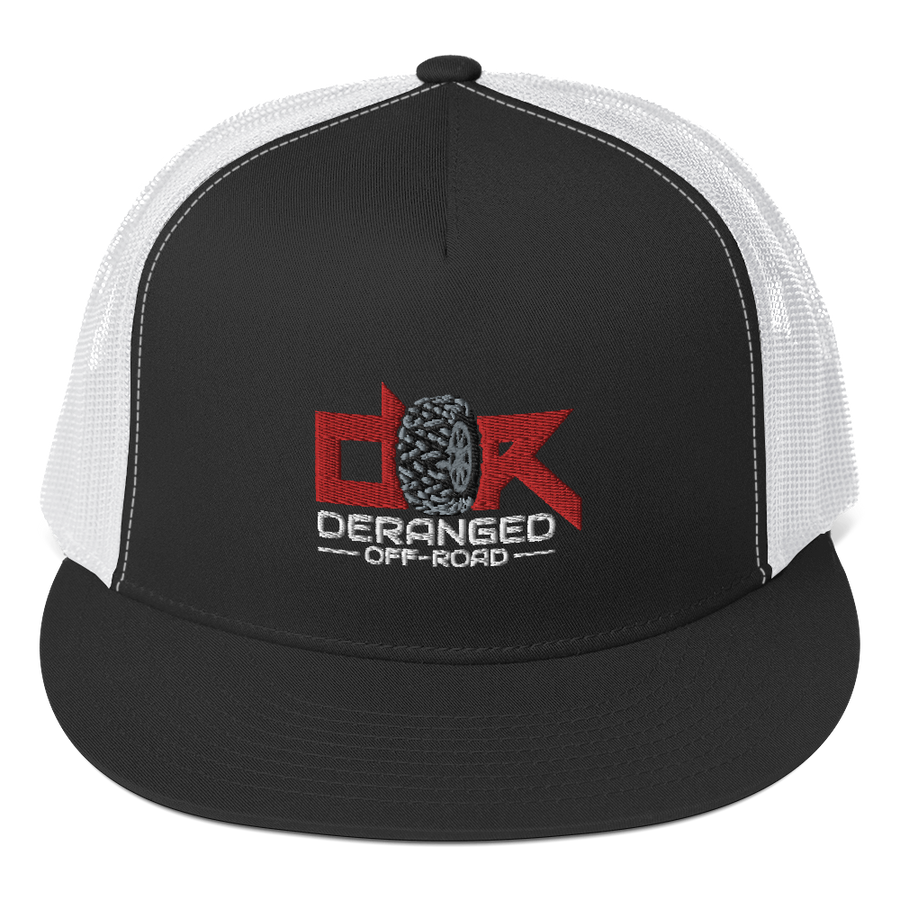 Deranged Logo Trucker Hat - New