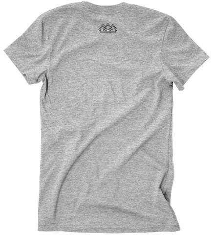 Grey Crown Tee