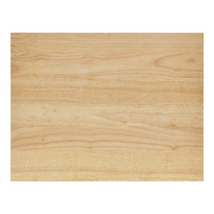 Overhead View of Large Cutting Board
