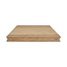 Load image into Gallery viewer, Solid Rubberwood Cutting Board with Lovely Natural Finish