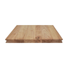Load image into Gallery viewer, Beautiful Wood Grain Construction of Hopper Rubberwood Cutting Board Set