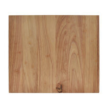 Load image into Gallery viewer, Overhead View of Medium Rubberwood Cutting Board from Hopper Studio