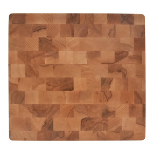 Overhead View of Durable and Functional Beech Cutting Board