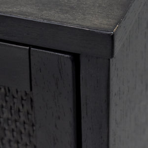 Sophia Nightstand with Wood Finish