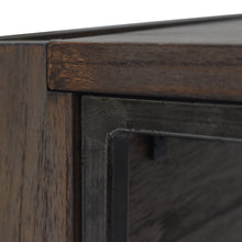 Load image into Gallery viewer, Detail Photo of Steel Frame for Arthur Grey 2-Piece Nesting Table Set