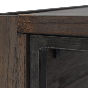 Detail Photo of Steel Frame for Arthur Grey 2-Piece Nesting Table Set