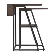 Load image into Gallery viewer, Arthur Grey 2-Piece Nesting Table Set Alternate Side View