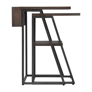 Arthur Grey 2-Piece Nesting Table Set Alternate Side View