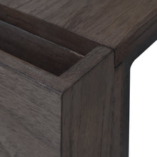 Load image into Gallery viewer, Detail Photo of Arthur Grey 2-Piece Nesting Table Set