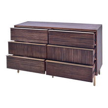Load image into Gallery viewer, Avant  6 Drawer Dresser - Mochaccino