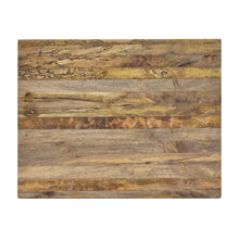 Load image into Gallery viewer, Overhead View of Beautiful Natural Wood Cutting Board