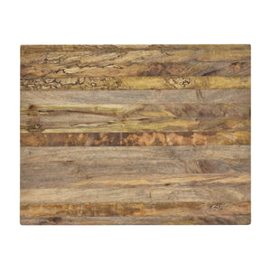 Overhead View of Beautiful Natural Wood Cutting Board