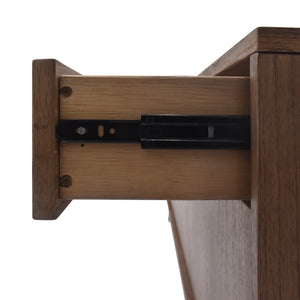 Hopper Media Console Drawers Side View
