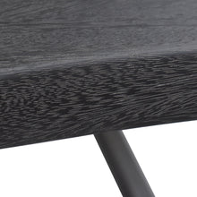 Load image into Gallery viewer, Wood Grain Detail of Hopper Studio Java Dining Table